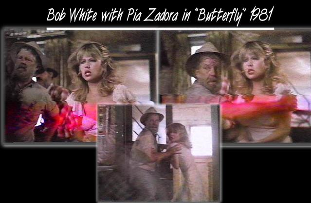 Bob White with Pia Zadora in 'Butterfly' 1981